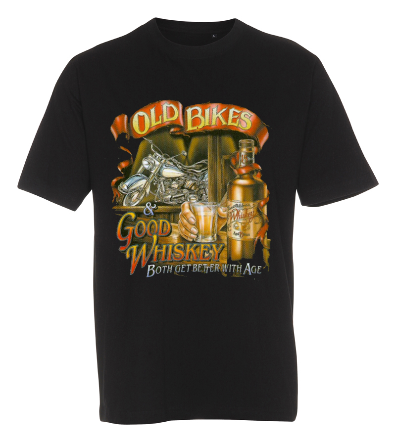 T-shirt old bikes