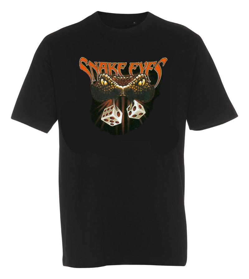 T-shirt snake eyes