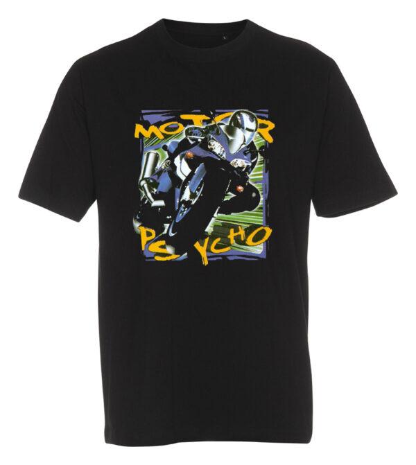T-shirt motor psycho