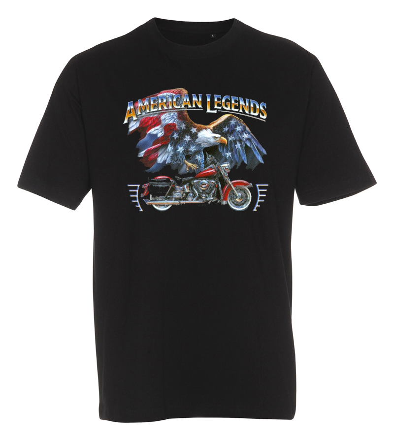 T-shirt american legend