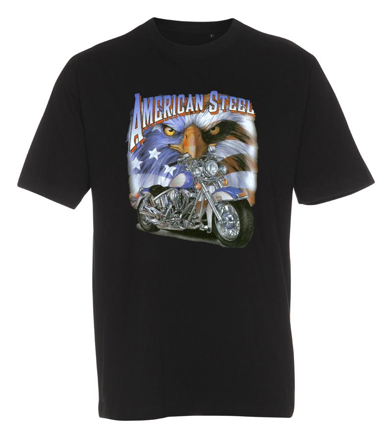 T-shirt american steel