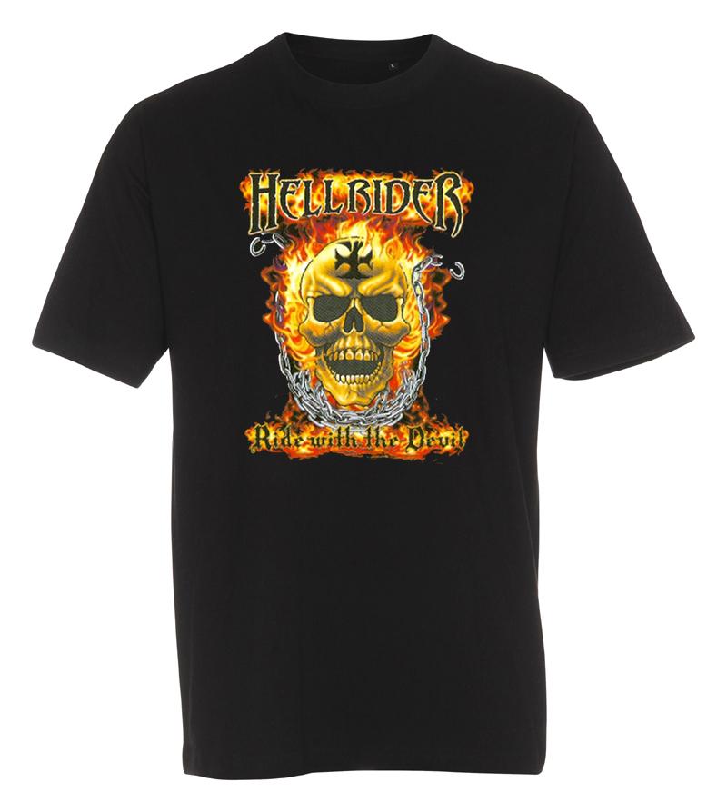 T-shirt hell rider