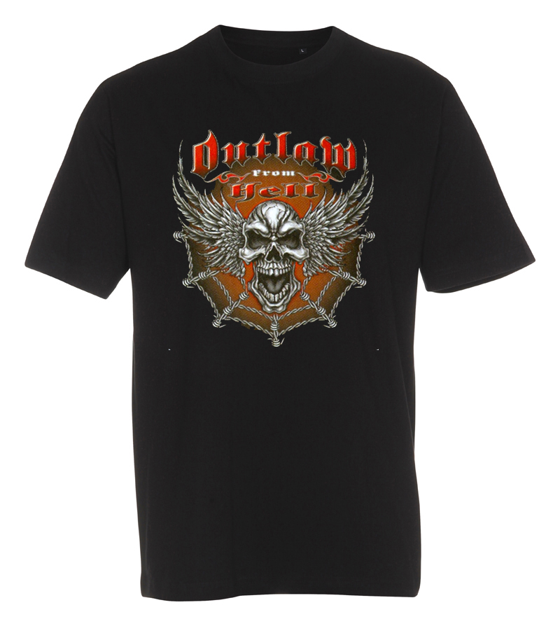T-shirt Outlaw From Hell